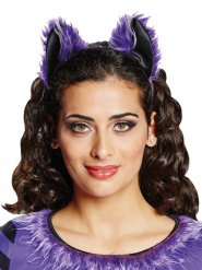 Bandolete orelhas de morcego mulher