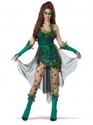 Disfarce vilã envenenadora mulher verde