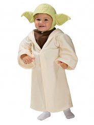 Disfarce Yoda Star Wars™ bebé