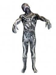 Disfarce Morphsuits™ monstro esqueleto criança Halloween