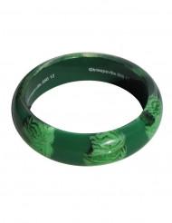Bracelete cérebro zombie verde adulto