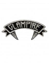 Adesivo Kreepsville Glampire cinzento e preto