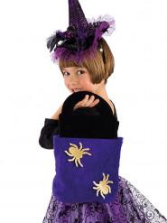 Bolsa aranha roxa criança