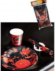 Kit de decoração para mesa horror
