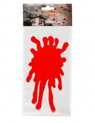 Autocolante para janela manchas de sangue Halloween