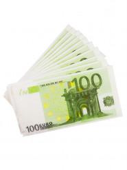 10 Guardanapos de papel retangulares 100€