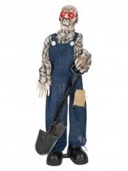 Figurino de decoração zombie 75 cm