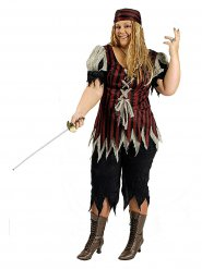 Disfarce pirata obstruidor - mulher