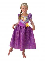 Disfarce com tiara Rapunzel™ menina