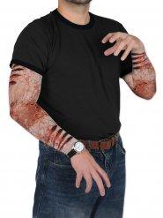 Mangas falsas feridas zombie Halloween