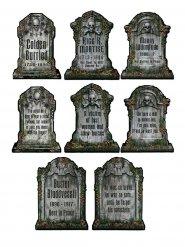 Decorações Lápide esqueleto Halloween 4 partes