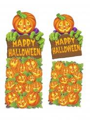 Decoração mural abóbora Happy Halloween