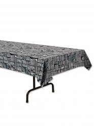 Toalha de mesa efeito pedras cinzentas 137 x 274 cm