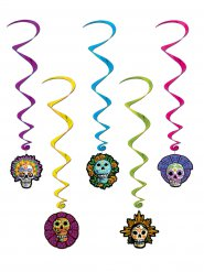 Decorações para pendurar Dia de los muertos Halloween