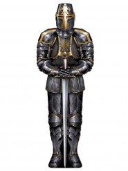 Decoração cavaleiro com armadura 182 cm