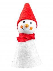 Decoração Boneco de Neve 8 x 3 cm