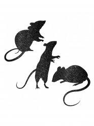 9 Decorações para janela ratos brilhantes