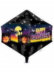 Balão alumínio Happy Halloween 45 x 53 cm