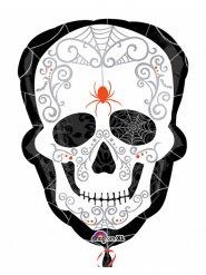 Balão caveira Dia de los muertos
