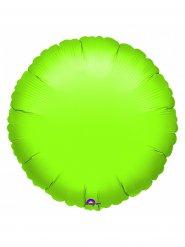 Balão alumínio redondo verde