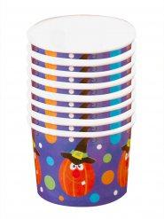 Taças para sobremesa abóbora Halloween