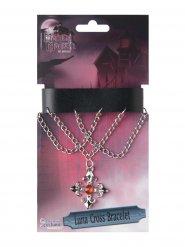 Bracelete cruz vampiro