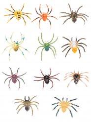 Decoração aranha colorida Halloween