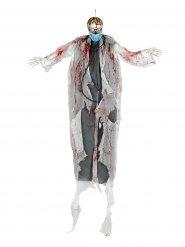 Decoração para pendurar luminosa médico zombie Halloween