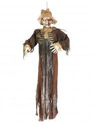 Decoração espantalho zombie Halloween 150 cm