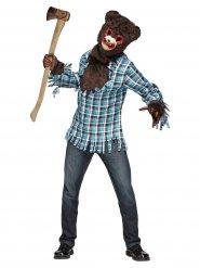 Disfarce urso halloween adulto