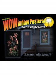 Autocolante janela zombies 91 x 152 cm