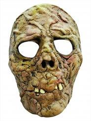 Máscara zombie verde Halloween