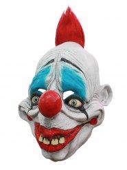 Máscara em látex palhaço assustador