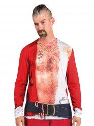 T-shirt colorido homem Natal