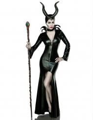 Disfarce luxo bruxa sexy mulher