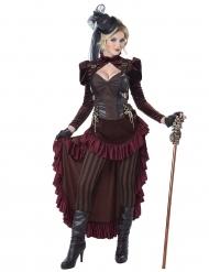 Disfarce steampunk sexy mulher