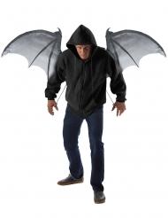 Asas (não dobráveis) morcego demónio