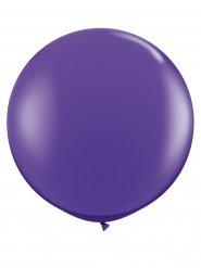 Balão gigante roxo para decoração de festa