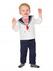 Disfarce marinheiro bebé