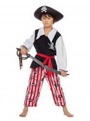Disfarce pirata corsário criança