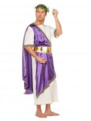 Disfarce imperador romano lilás homem