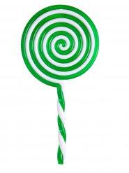 Chupeta verde de plástico