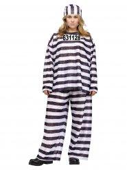 Disfarce prisioneira mulher tamanho grande