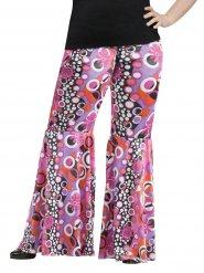 Calças hippie mulher tamanho grande