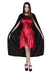 Disfarce bruxa vampira Halloween