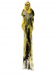 Decoração senhor da morte amarela Halloween