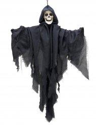 Decoração para pendurar Senhor da morte preta