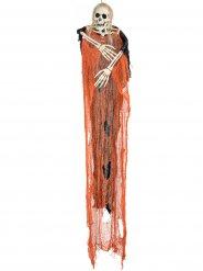 Senhor da morte cor de laranja Halloween