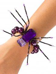 Pulseira aranha lilás