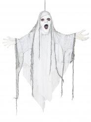Decoração para pendurar fantasma luminoso